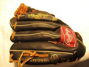 "RAWLINGS A-ROD Autograph Model PM105 RH 10 1/2"" Youth Leather Baseball Glove"
