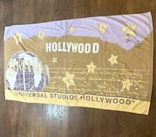 Vintage 90s Universal Studios Hollywood Collectible Beach Bath Towel