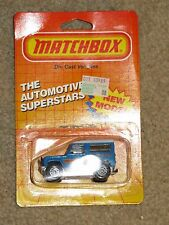 Matchbox Die-Cast MB35 Land Rover 90 1986 MOC