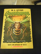 Goosebumps: Why I'm Afraid of Bees 17 by R. L. Stine (2005, Paperback)