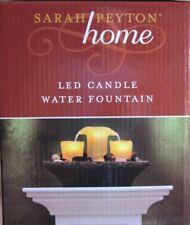 Sarah Peyton Home Sarah Peyton Home LED Candle Meditation Water Fountain