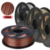 4 Metal Color 3D Printer Filament Kit 1.75mm PLA 0.5kg/1kg For RepRap  !