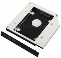 2nd Disco Duro HDD SSD Caddy Adaptador para Lenovo IdeaPad Z570 Z575 Z580 G575