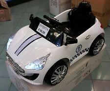 Auto Macchina Elettrica per Bambini colore Bianca MP3 Mini Car con Telecomando