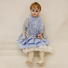 MES-60892Alte Ernst Heubach Porzellankopf Puppe L:ca.40cm,