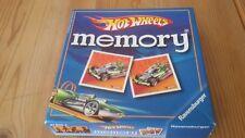 Hot Wheels Memory, Ravensburger Jeu de 81 806, excellent état, rare