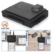 "6TB USB 3.0 HDD Converter Adapter ALL-IN-1 2.5"" & 3.5"" IDE SATA Hard Drive HDD"