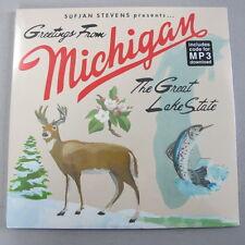 SUFJAN STEVENS - Michigan ***US-Vinyl-2LP + MP3-Code***NEW***sealed***