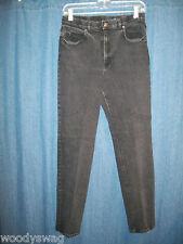 Crazy Horse Black Jeans 99% Cotton Size 10 Liz Claiborne Company