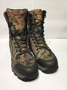 Camouflage Hunting Boots Size 11 Cordura