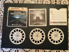 J47 Close Encounters of the Third Kind Movie Aliens View-Master Reels Packet