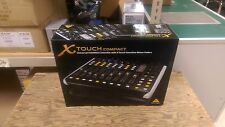 Behringer X-touch Compact Universal USB/MIDI Controller with 9 Motor Faders USED