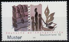 Specimen, Germany Sc2168 World Hunger Help.