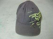 COLLECTIBLE BROWN GREEN FOX RACING FLEXFIT TRUCKER  HAT CAP SIZE YOUTH