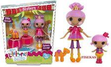 Lalaloopsy MINI Littles Sisters Pita Mirage and Sahara Mirage 2 Dolls NEW