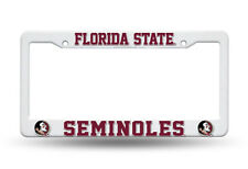 Florida State Seminoles License Plate Cover Frame NEW!! NCAA FSU