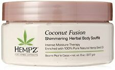 Coconut Herbal Shimmering Body Souffle 100% Pure Natural 8 oz. - Bestseller