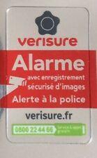 Autocollant VERISURE Securitas Direct AUTHENTIQUE 4 cm x 2,5 cm