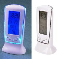 Digital Backlight LED Display Table Alarm Clock Snooze Thermometer Calendar、2018