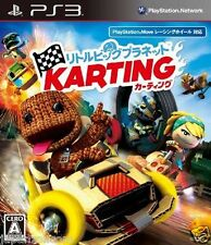 Used PS3 Little Big Planet Karting  PLAYSTATION 3 SONY JAPAN JAPANESE IMPORT