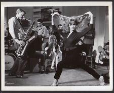 sexy JANICE RULE jazz saxophonist GERRY MULLIGAN Vint Orig Photo musician