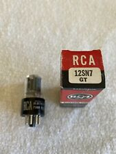 Single RCA 12SN7 Vacuum Tube with box
