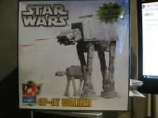 NEW SEALED BOX STAR WARS AT-AT WALKER MODEL KIT AMT ERTL MOVIE PRINT POSTER HTF