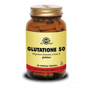 Solgar Glutatione 50 30vcps