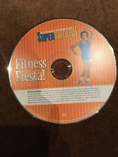 Richard Simmons Super Sweatin' Fitness Fiesta Dvd - *Rare*