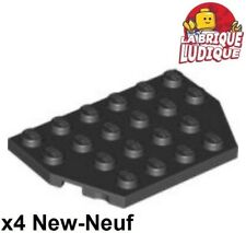 Wedge Plate Wing 4x9 Stud Notches NEW 2 x LEGO 14181 Plaque Aile noir, black