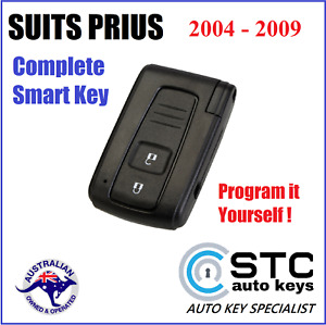 SUITS TOYOTA PRIUS COMPLETE SMART KEY FOB 2004 2005 2006 2007 2008 2009