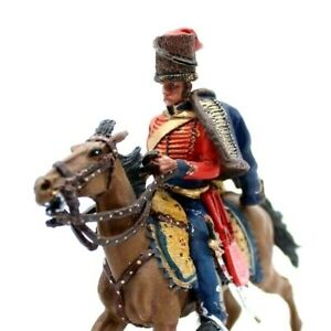 Mounted Toy soldier in Uniform with Artillery Lt General Stapleton Cotton 1812