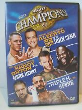 WWE Night of Champions 2011 DVD Wrestling