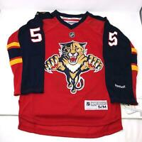 NHL Reebok Ekblad Florida Panthers Hockey Red Jersey Kids Youth Size Large/XL