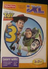 Fisher-Price iXL Learning System Disney Pixar Toy Story 3 Age 3-7 Yr 2010 Mattel