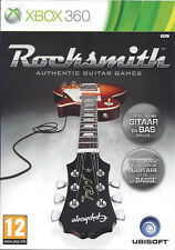 ROCKSMITH for Xbox 360 - with box, poster, stickers & manual - PAL