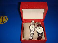 Pareja de relojes para el y para ella marca DUMONT buen estado-sin uso real
