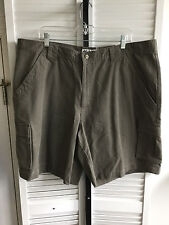Men's Columbia Brooksville Twill Cargo Shorts Sz 42 Green NWT (1754)
