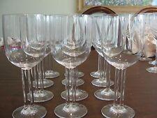 "ROSENTHAL CUPOLA 12 WATER GLASSES 7 3/4"""