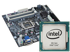 ECS B85H3-M3 V1.0 LGA1150 CORE I3 / I5 / I7 4TH GEN CUSTOM MOTHERBOARD COMBO KIT