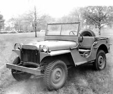 WW2 WWII Photo World War Two US Army Willys Jeep Early Production   / 3152