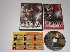 Sengoku Musou Samurai Warriors  Japan Import PlayStation 2 PS2