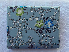 HTF Denyse Schmidt DS Quilts Richmond BLUE FLOWERS & VINES *100% Cotton*