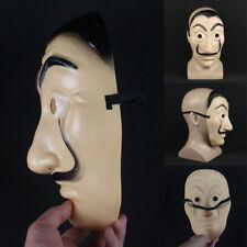 La Casa De Papel Mask With Red Boiler Suit Masque Mascara de Dali Money Heist