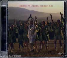 ROBBIE WILLIAMS - SIN SIN SIN 2006 EU DVD SINGLE PAL CHRYSALIS - DVDCHS5160