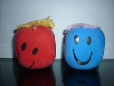 GIOCO SMILE EMOTICON ANTISTRESS PALLA MORBIDA schiacciare giocattolo educativo
