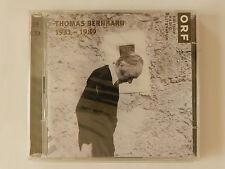 2 CD Thomas Bernhard 1931-1989 ORF Neu originalverpackt