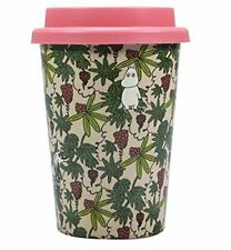 MOOMIN Lost in Valley TRAVEL MUG with LID Huskup Eco Biodegradable TROPICAL