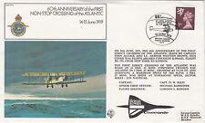 FF3a  1st Non - stop crossing of Atlantic.Concorde flown cover.Flown  Concorde