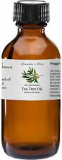 Tea Tree Essential Oil - 2 oz - 100% Pure and Natural - Free Shipping